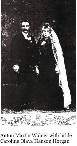 Anton Wolner & Caroline Hanson Wedding