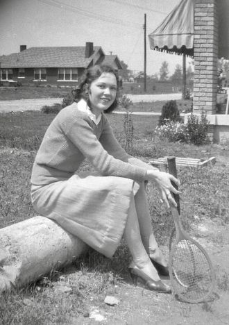 A photo of Lillian (McClure) Boyce