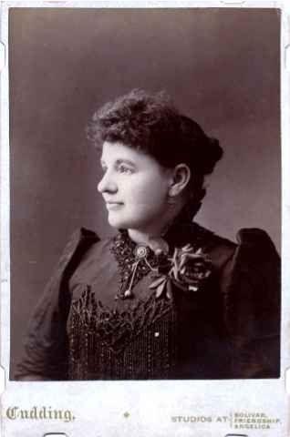 Julia (Greenwood) Schaney Akin, 1890