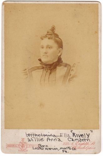 Mrs Willie Anna (Cambern) Rively