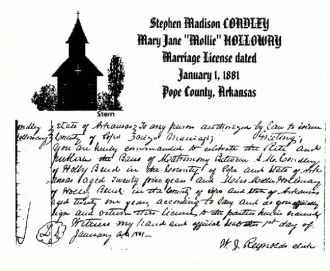Stephen & Mary Jane Condley, Arkansas