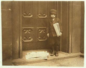 Newsboy, 1913