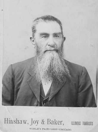 A photo of John W Hess