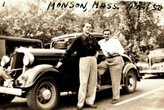 1950 -Two Men and Car