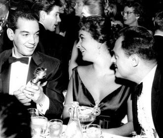 """""""Cantinflas"""", Elizabeth Taylor, Mike Todd"""