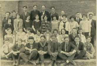 Mill Creek Indiana School 1923