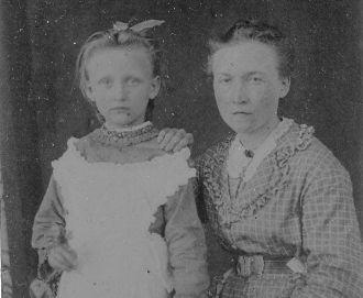 Mattie Lou and her mama