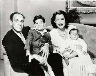 Moss Hart Family