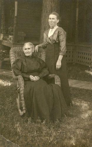 Sarah Harshman & Sarah Melvina Sylvesta Cotton