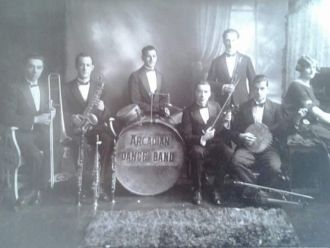 Gondoliers dance band, 1925