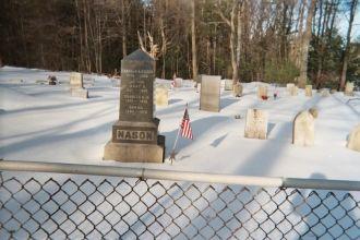 Charles Nason headstone, NH