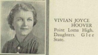 Vivian (Hoover) Minella, California