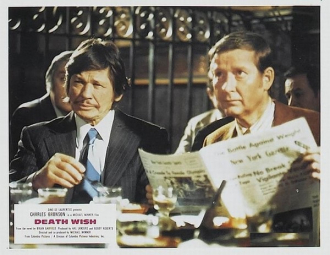 William Redfield and Charles Bronson
