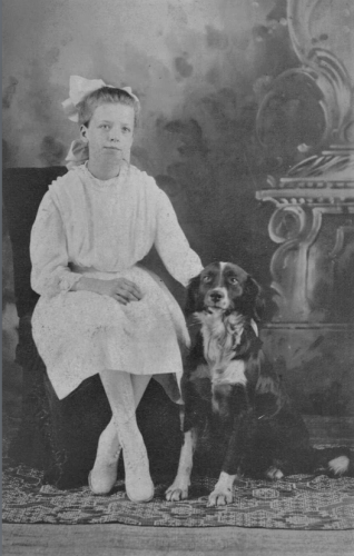 Thelma Zell adopted name as a young girl aprox 13 years old