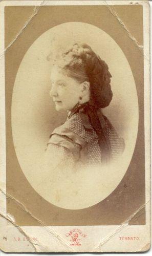 Anna Mella Stubbs, 1872