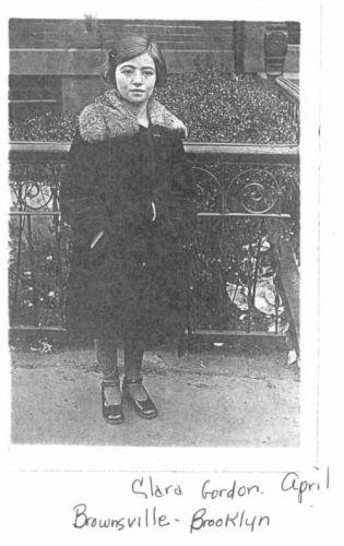 Clara  Gordon April