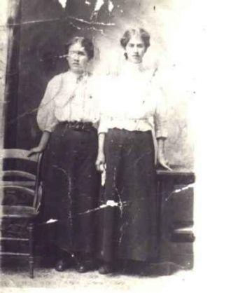 Sisters Betty & Nina Arnett Risner