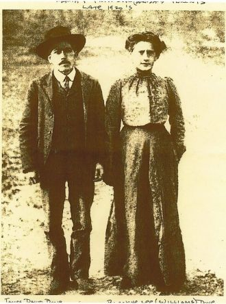 Blanche Lee Williams and James David Dove