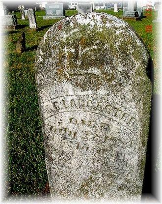 Gravesite of Clarissa Elizabeth Lancaster