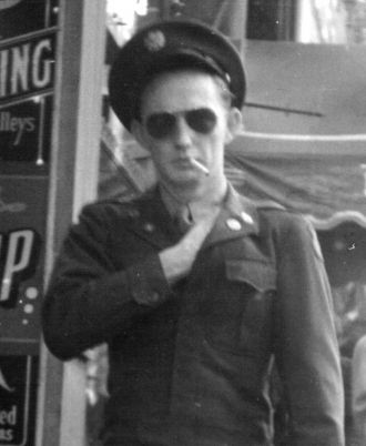 Mike Daley in the Army
