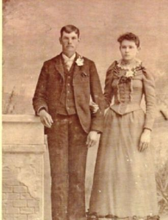 John Howard Ladd and wife Lillian