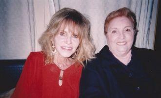 Amanda Stevenson and Linda Garrett