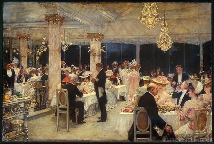 Julius Leblanc Stewart painting