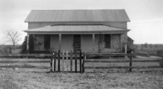 Prause family home near Yoakum