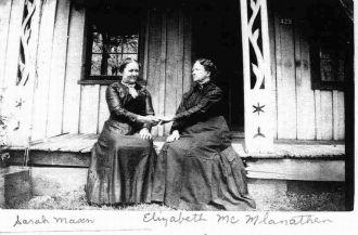 Sarah Mason & Elizabeth Mc MlanathenARsARAH m