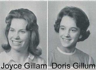 1965 yearbook photo Gillam/Gillum