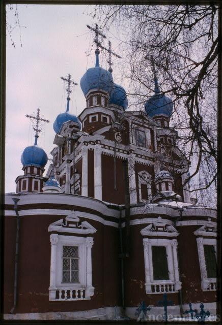 Church of the Kazan Icon of the Virgin, (1694), southeast...