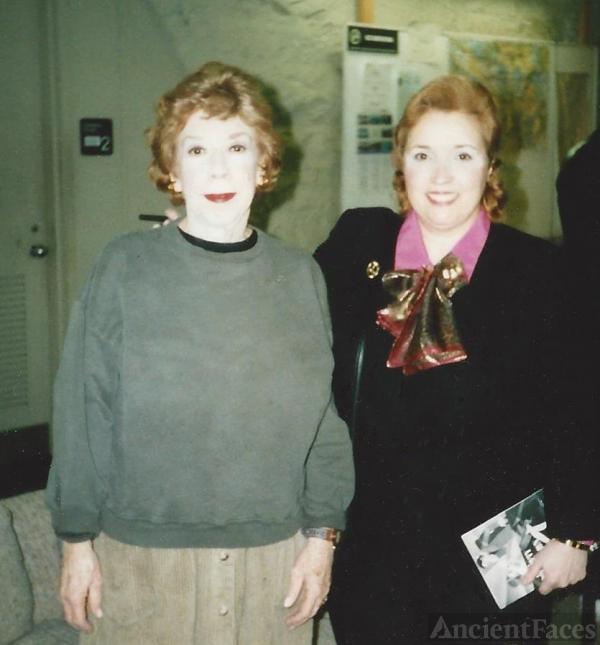 Actress Bobo Lewis and Writer, Amanda S. Stevenson.