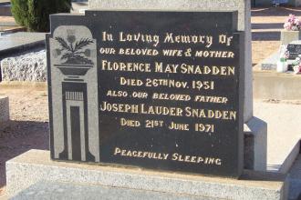 A photo of Joseph Snadden