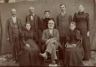 George Frank and Family