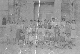 Eddie Ames at Pilgrim Memorial School