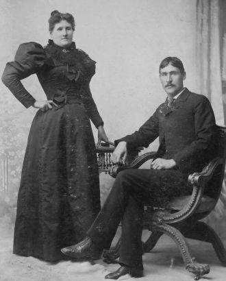 Albert Clay & Mrs. Harve Clay