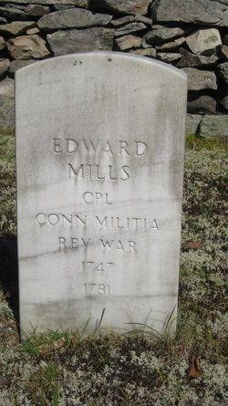 Corp. Edward Mills gravesite