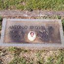 Antonio Brown gravesite