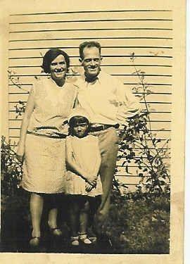 John Edwin Carr, His Wife & Daughter