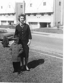 Fran X.McGowan & Mom 1963