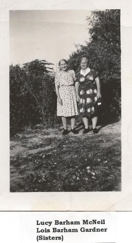 Lucy & Lois Barham