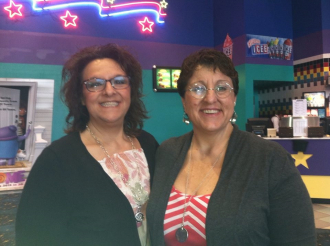 Daughters Gayle Palefsky and Janice Weiss