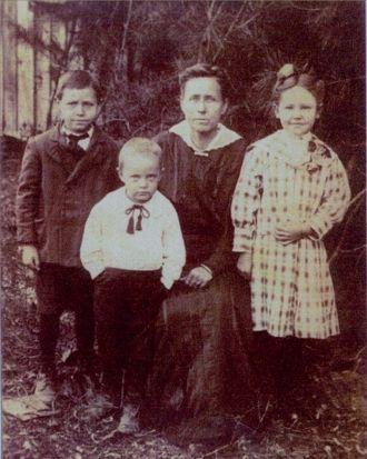 Martha Virginia (Jennie) Ivie & Children