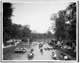 Main Canal, Belle Isle, Detroit, Mich.