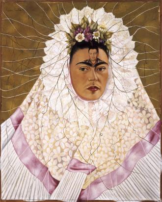 Frida Kahlo painting