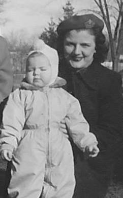 Clara Burk and daughter Melanie