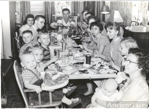 Barrineau Family, PA c1955