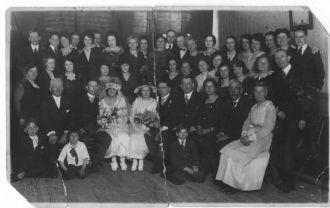 Mary (Black) & Walter McGuire Wedding, New York