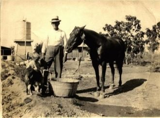 Don Bodishbaugh and Uncle Lee Richards