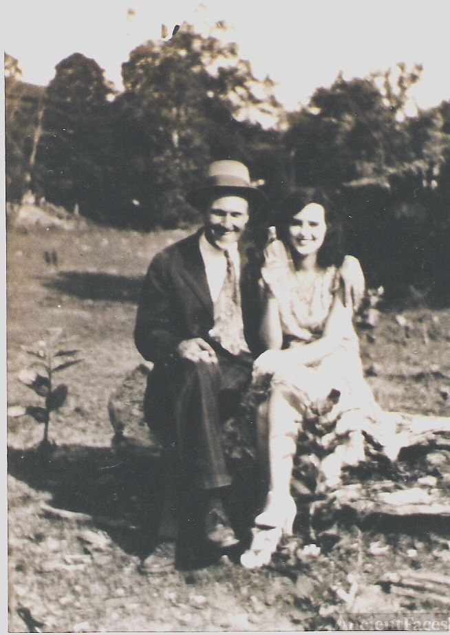 Grandfather Harry Feury and grandmother Elizabeth.